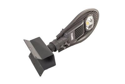 30W LED Straatlamp compleet met hoeksteun in kleur